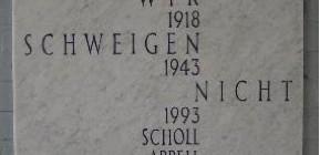 Der erste Scholl-Appell 1993