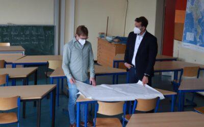 Der Hammer fällt – Das Scholl bekommt ein neues Lehrerzimmer